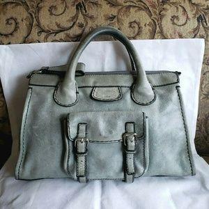 Chloe Edith Satchel Large Tote Bag Authentic